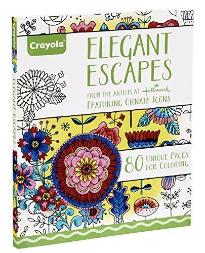 Libro Para Colorear Crayola Elegant Escapes - $ 809.00 en Mercado Libre