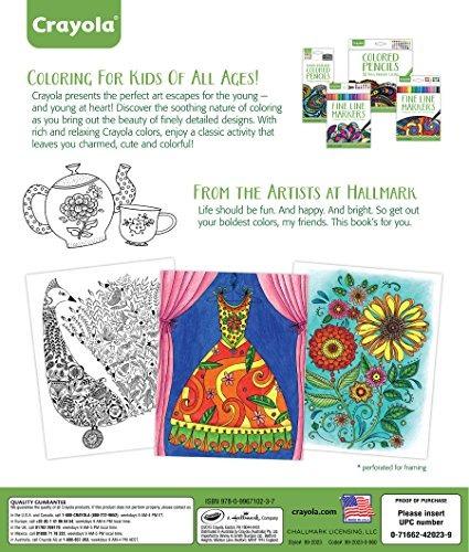 Libro Para Colorear Crayola Elegant Escapes - $ 96.300 en Mercado Libre