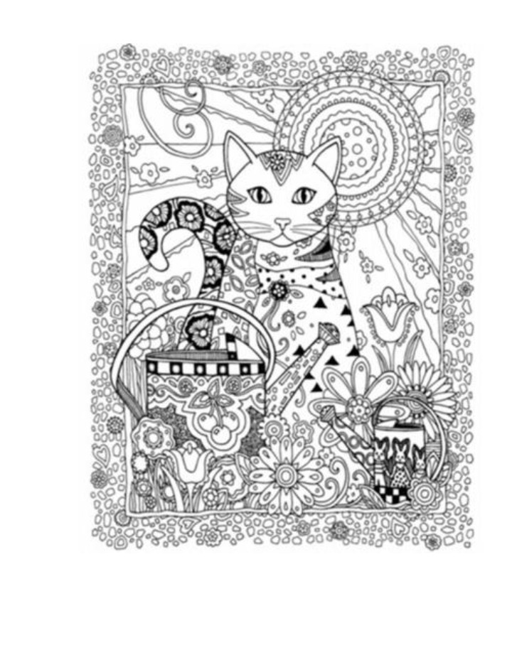 Libro Para Colorear Creative Cats Gatos Mandalas - $ 3.500 en ...