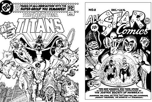 Libro Para Colorear Dc Comics - $ 1.254,77 en Mercado Libre