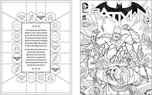 Libro Para Colorear Dc Comics - $ 842.12 en Mercado Libre