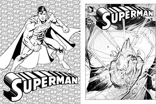 Libro Para Colorear Dc Comics - $ 108.600 en Mercado Libre