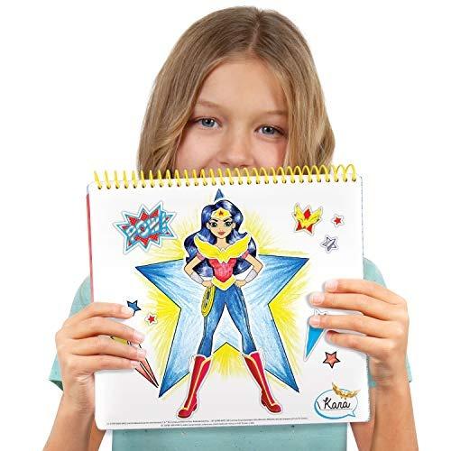 Libro Para Colorear Dc Superhero Girls