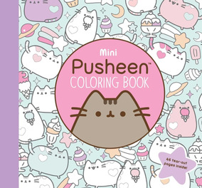 Libro Para Colorear De Gato Pusheen Coloring Book
