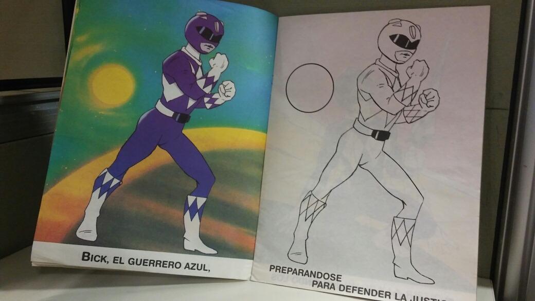 Increíble Libro De Colorear De Power Rangers Imágenes - Páginas Para ...