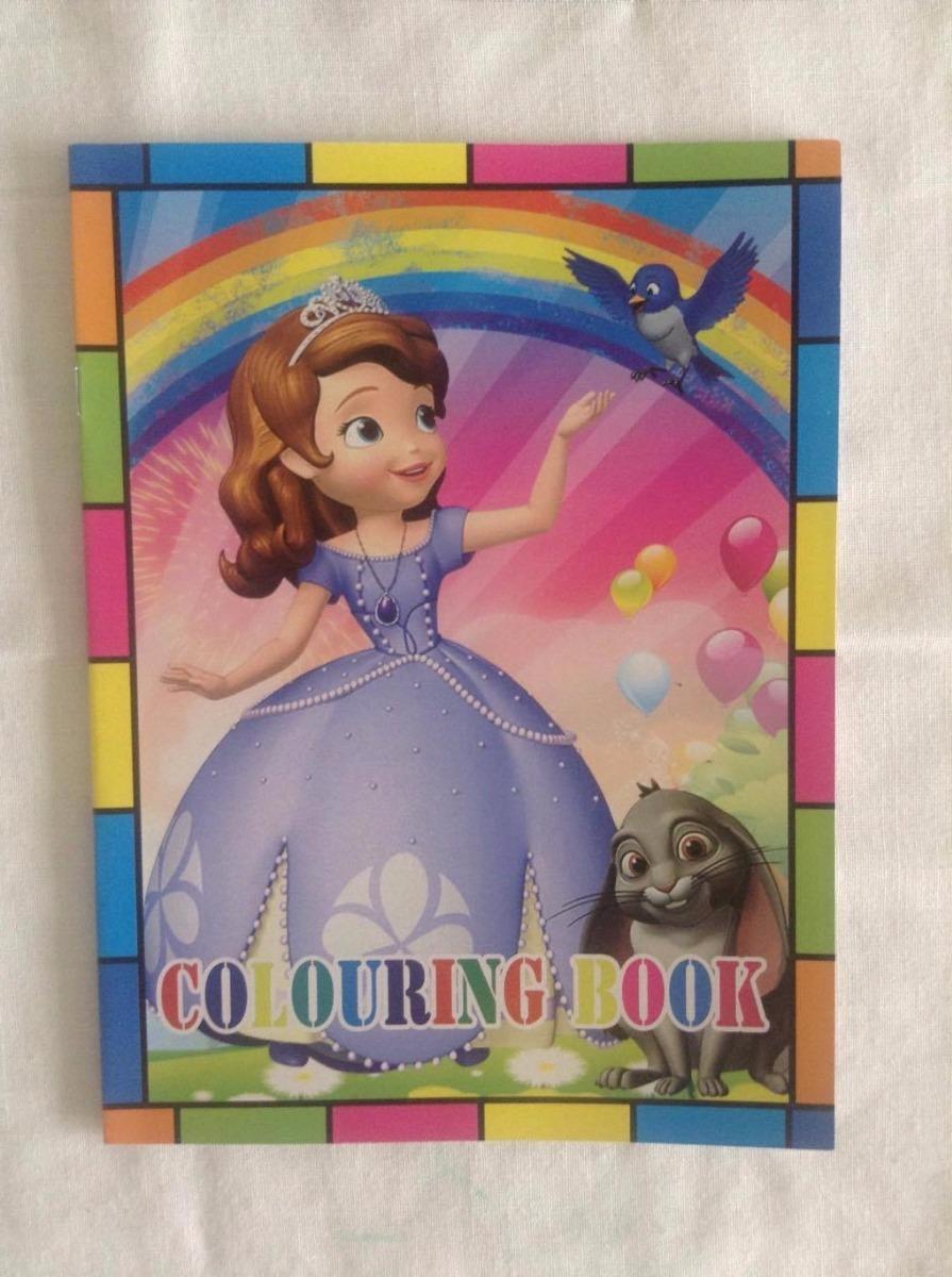 Libro Para Colorear De Princesa Sofia - Bs. 166,00 en Mercado Libre