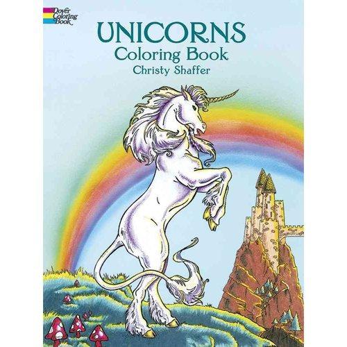libro para colorear de unicornios
