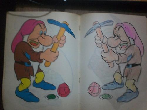 libro para colorear disney (años 70) susaeta