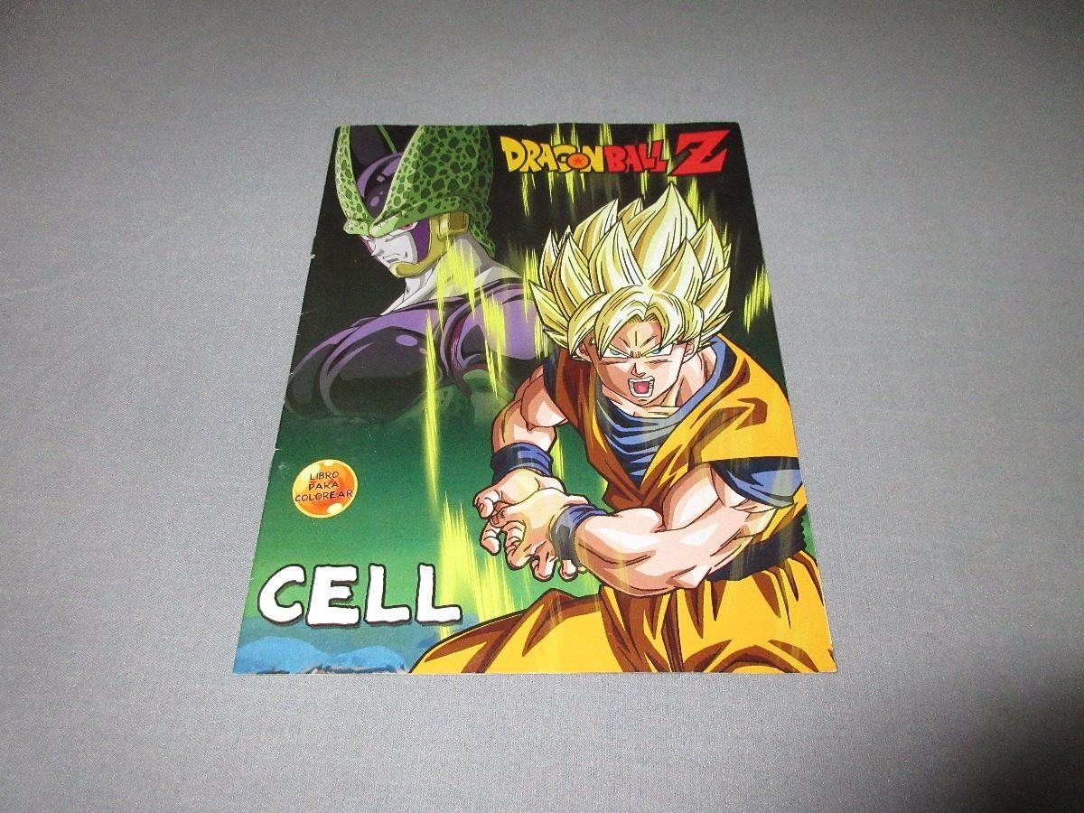 Libro Para Colorear Dragon Ball Z Toei Animation 2016 - $ 599.00 en ...