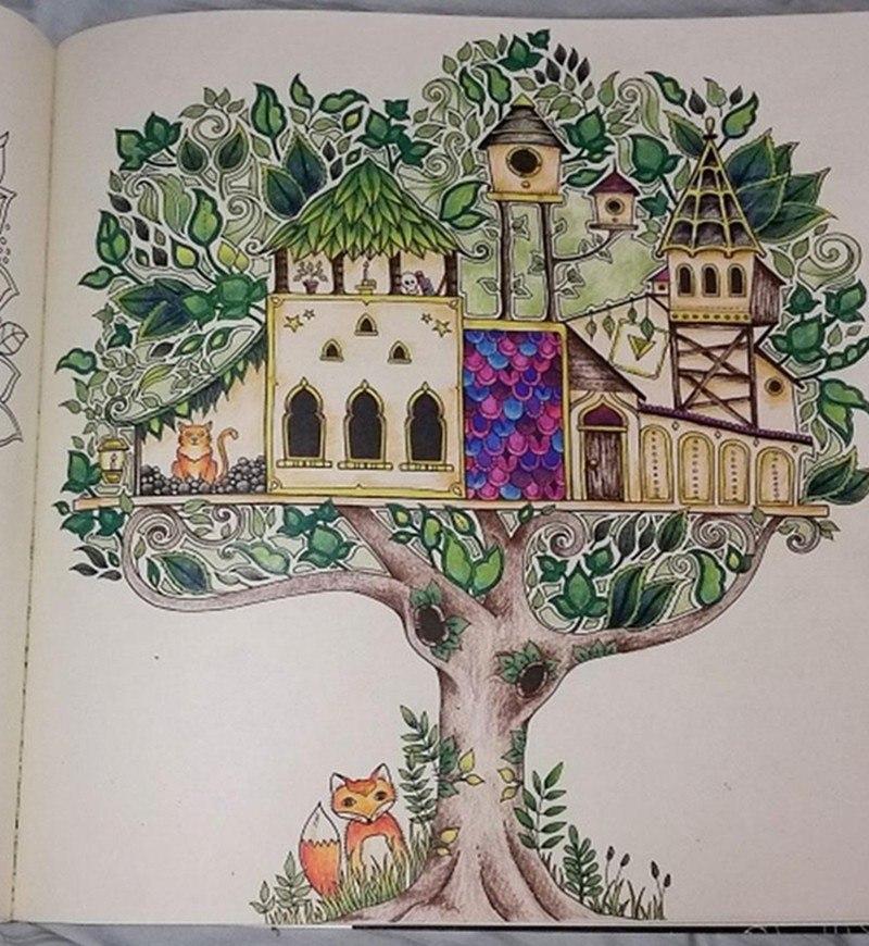 Magnífico Jardín Secreto Para Colorear Embellecimiento - Páginas ...