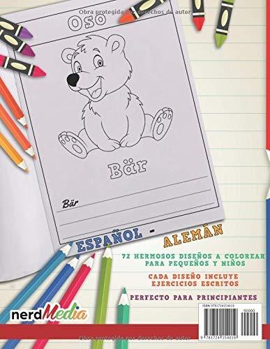 Libro Para Colorear Espanol Aleman I Aprender Aleman Para N ...