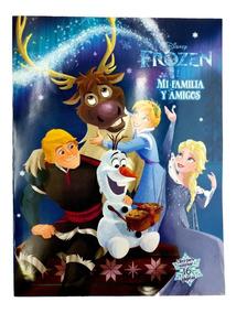 Libro Para Colorear Frozen Y Sus Amigos 16 Paginas