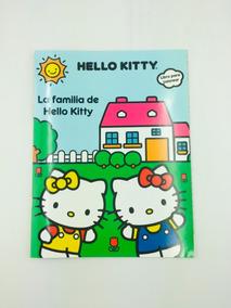 Libro Para Colorear Hello Kitty 16 Paginas