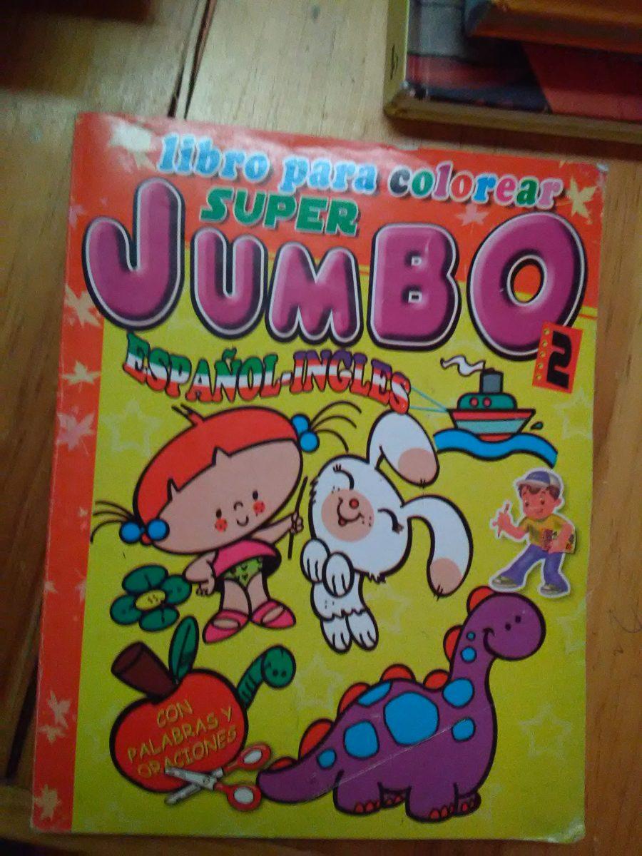 Libro Para Colorear Jumbo - $ 49.00 en Mercado Libre