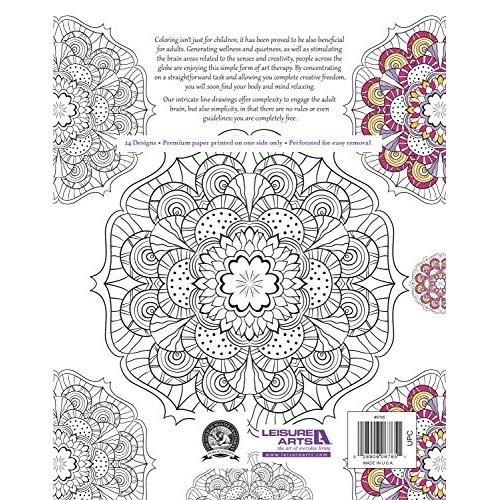 Libro Para Colorear Mandalas Antiestres 151900 En Mercado Libre