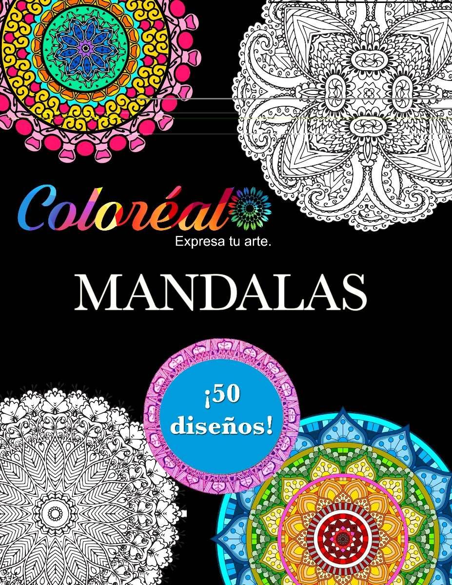 Libro Para Colorear Mandalas Desprendibles 12000 En Mercado Libre