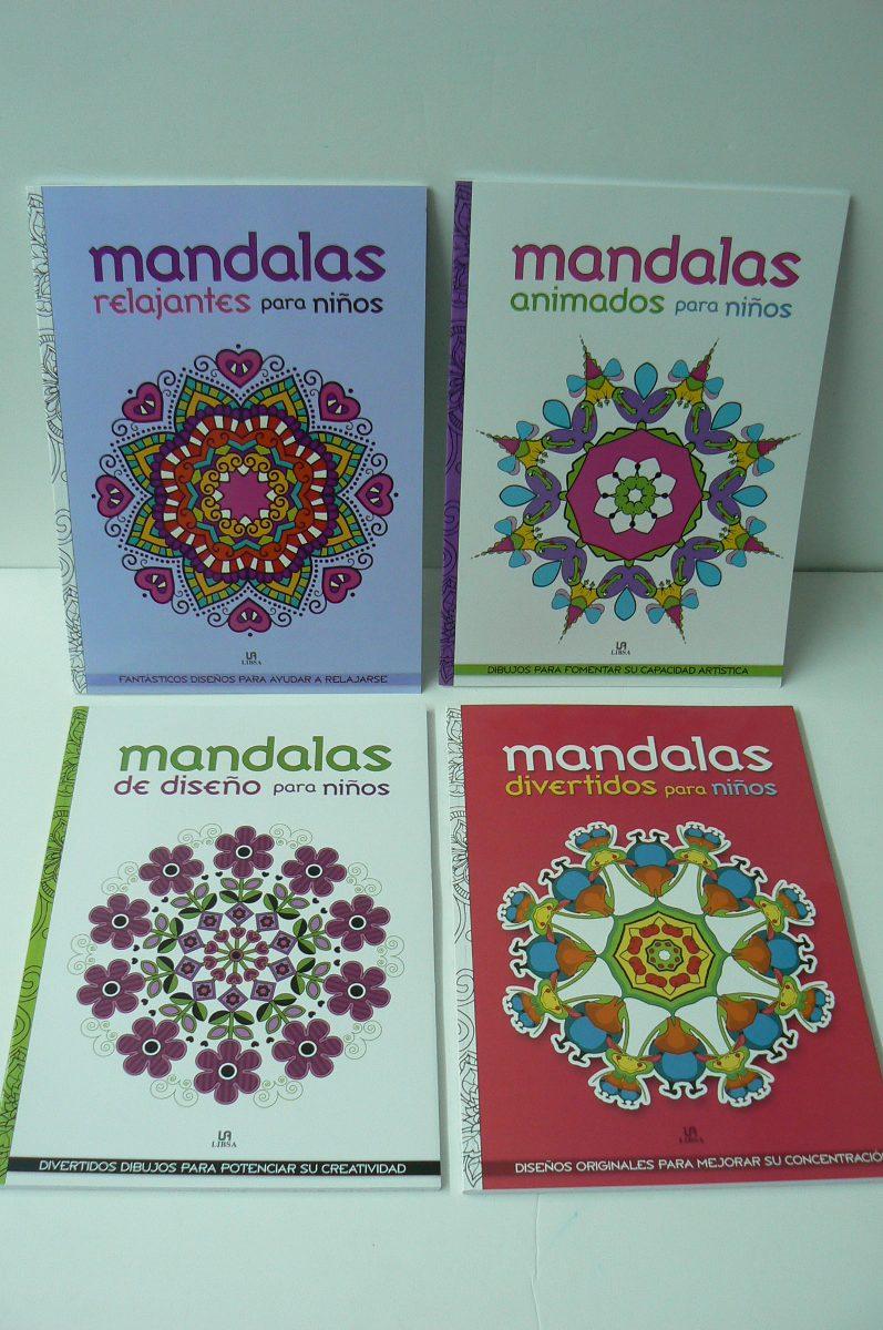 Libro Para Colorear Mandalas Para Niños (18865)   $ 90,00 en