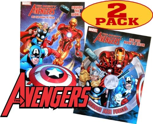Libro Para Colorear Marvel Avengers® Multicolor - $ 31.300 en ...