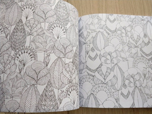 libro para colorear millie marotta's animal kingdom
