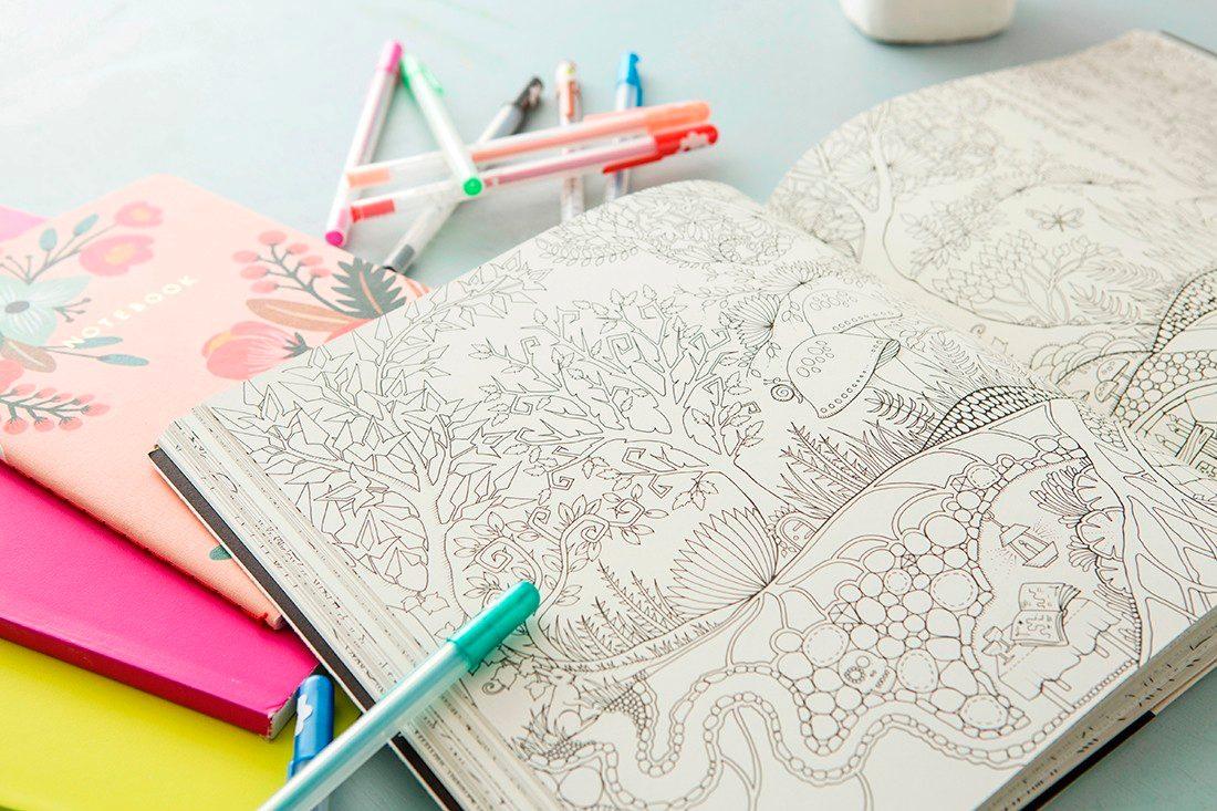 Libro Para Colorear - Oceano Perdido (no Jardin Secreto) - $ 14.990 ...