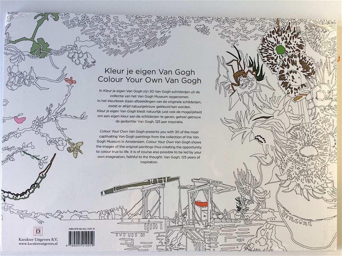 Libro Para Colorear Para Adultos Colorea Tu Propio Van Gogh ...