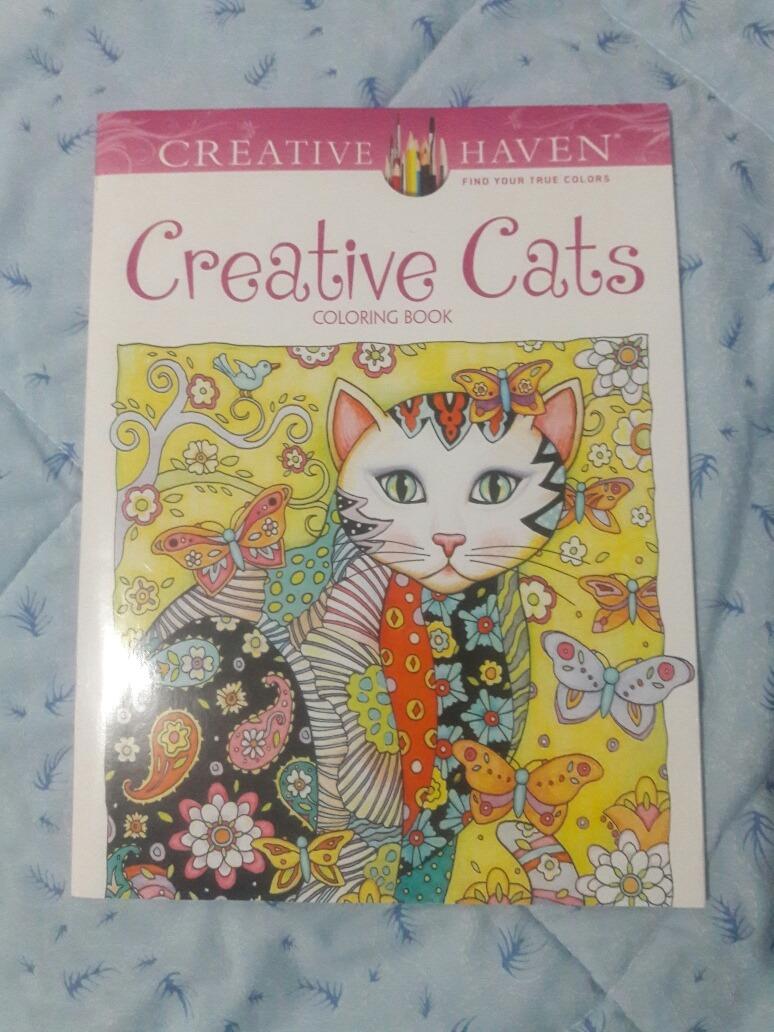 Libro Para Colorear / Para Adultos / Gatos - Bs. 1.500.000,00 en ...