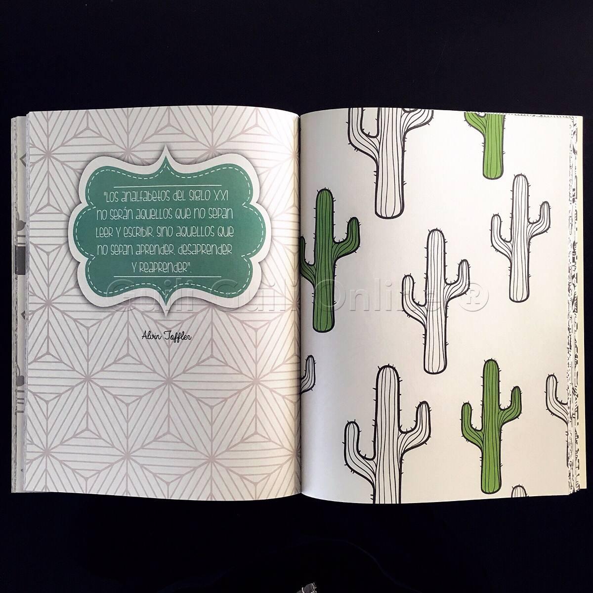 Libro Para Colorear Patrones Terapia Antiestres Creatividad ...