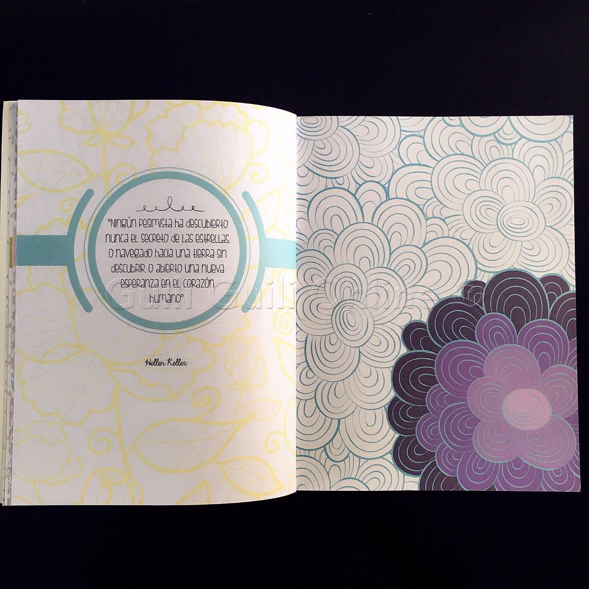 Encantador Terapia Creativa Para Colorear Colección de Imágenes ...