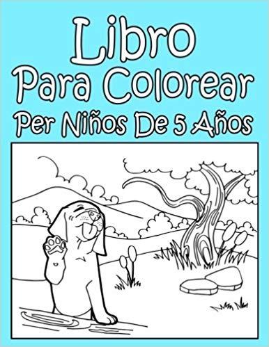 Libro Para Colorear Per Niños De 5 Años - En Español - $ 46.390 en ...