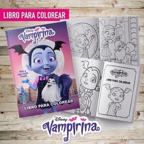 Libro Para Colorear Pintar Vampirina Souvenir Imprimible