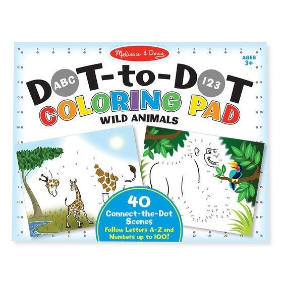 Libro Para Colorear Punto A Punto Melissa & Doug - $ 114.00 en ...