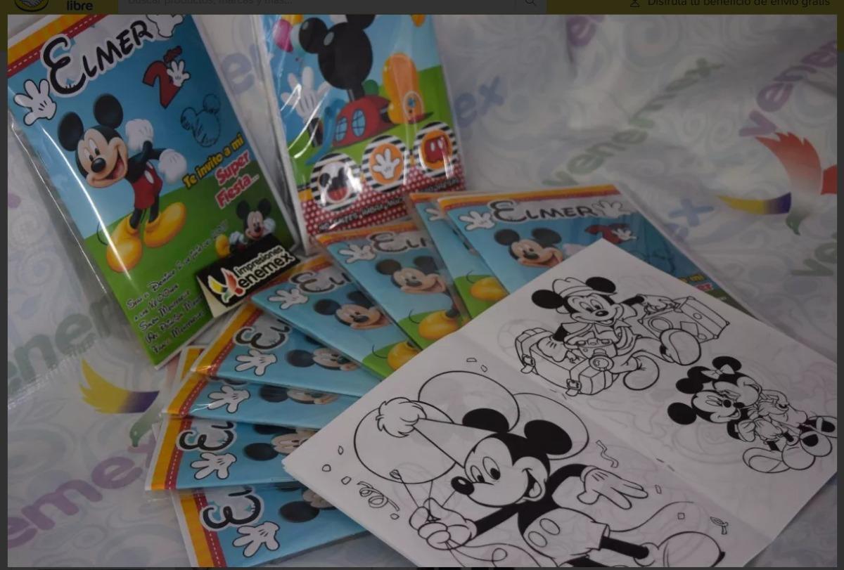 Libro Para Colorear-sorpresas Fiesta Niños - $ 3.500 en Mercado Libre