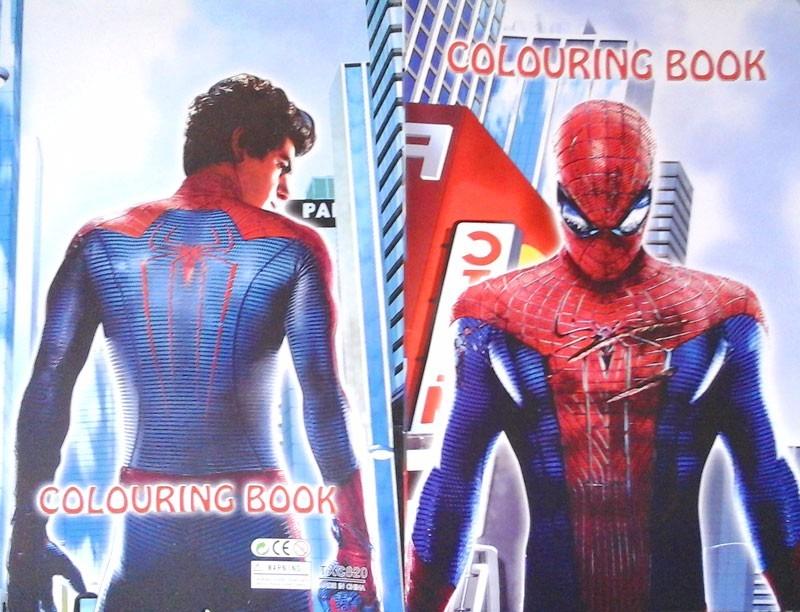 Libro Para Colorear Spiderman + Stickers + Marcadores - $ 14.900 en ...