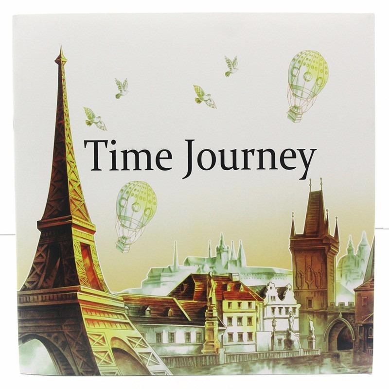 Libro Para Colorear Time Journey (tipo Secret Garden) - $ 4.500 en ...