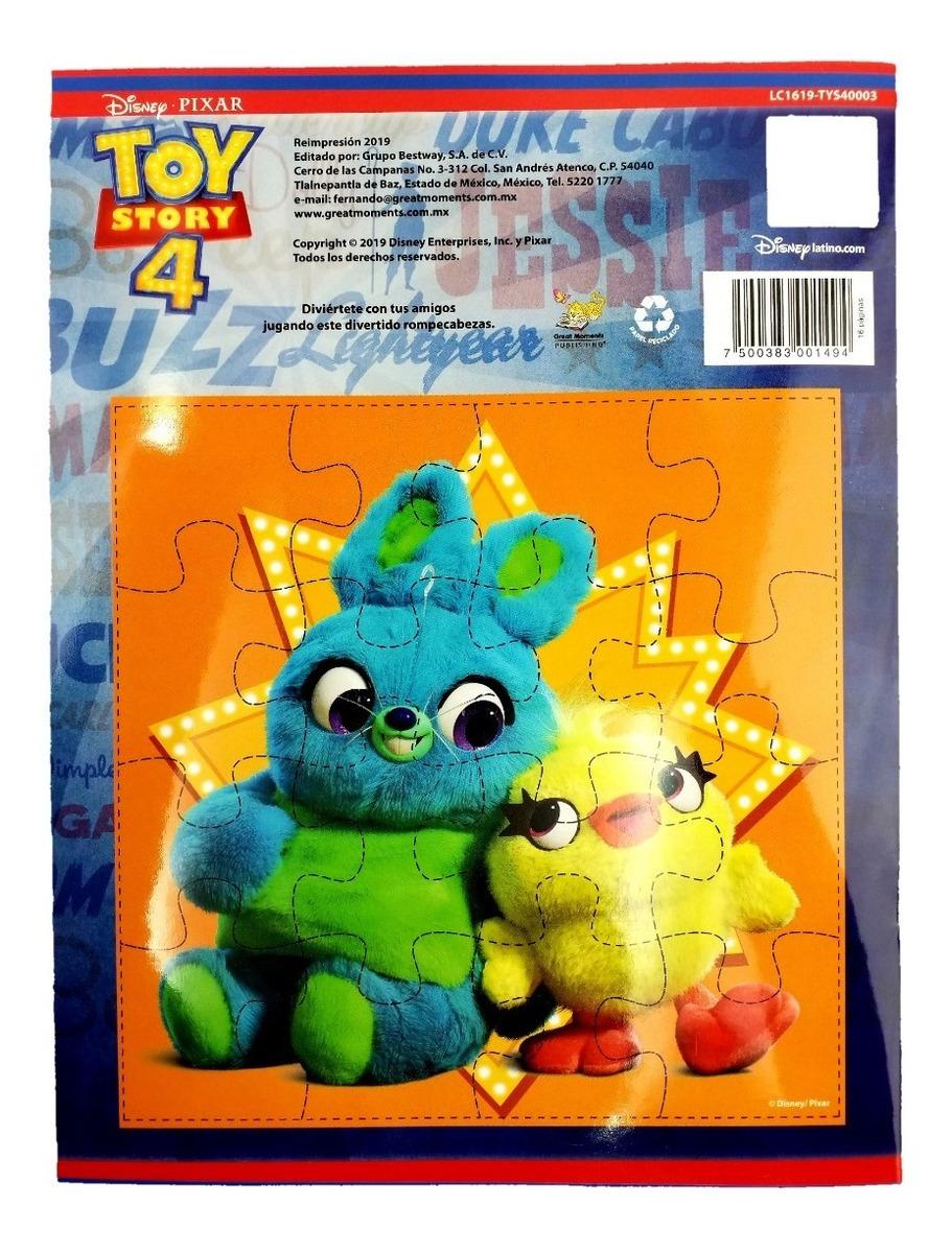 Libro Para Colorear Toy Story 4 Forky Disney 16 Paginas