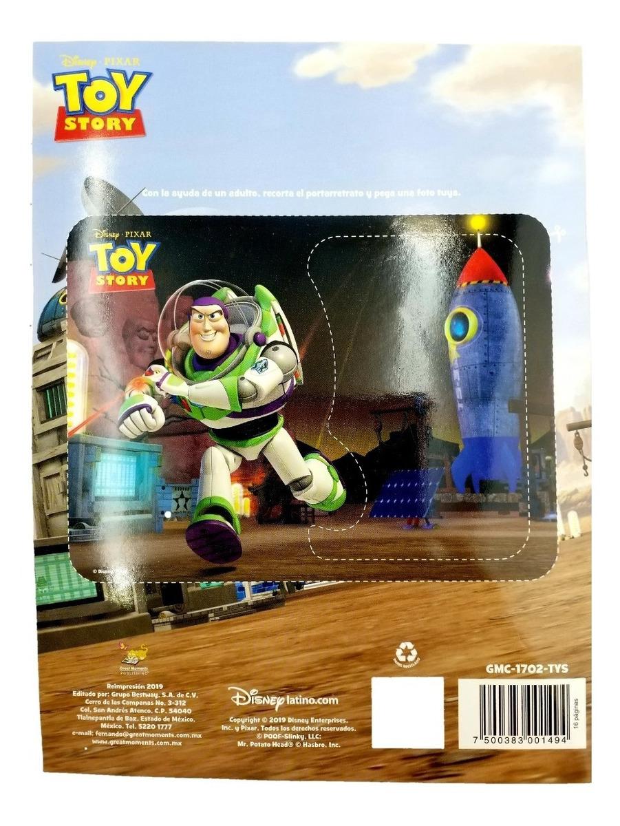 Libro Para Colorear Toy Story Aventura Espectacular 16 Pag