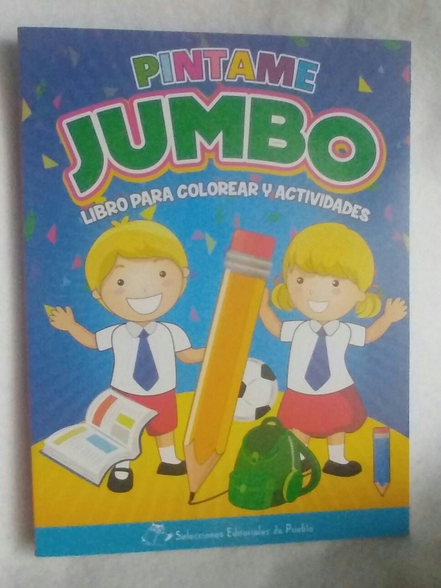 Único Jumbo Para Colorear Modelo - Ideas Para Colorear ...