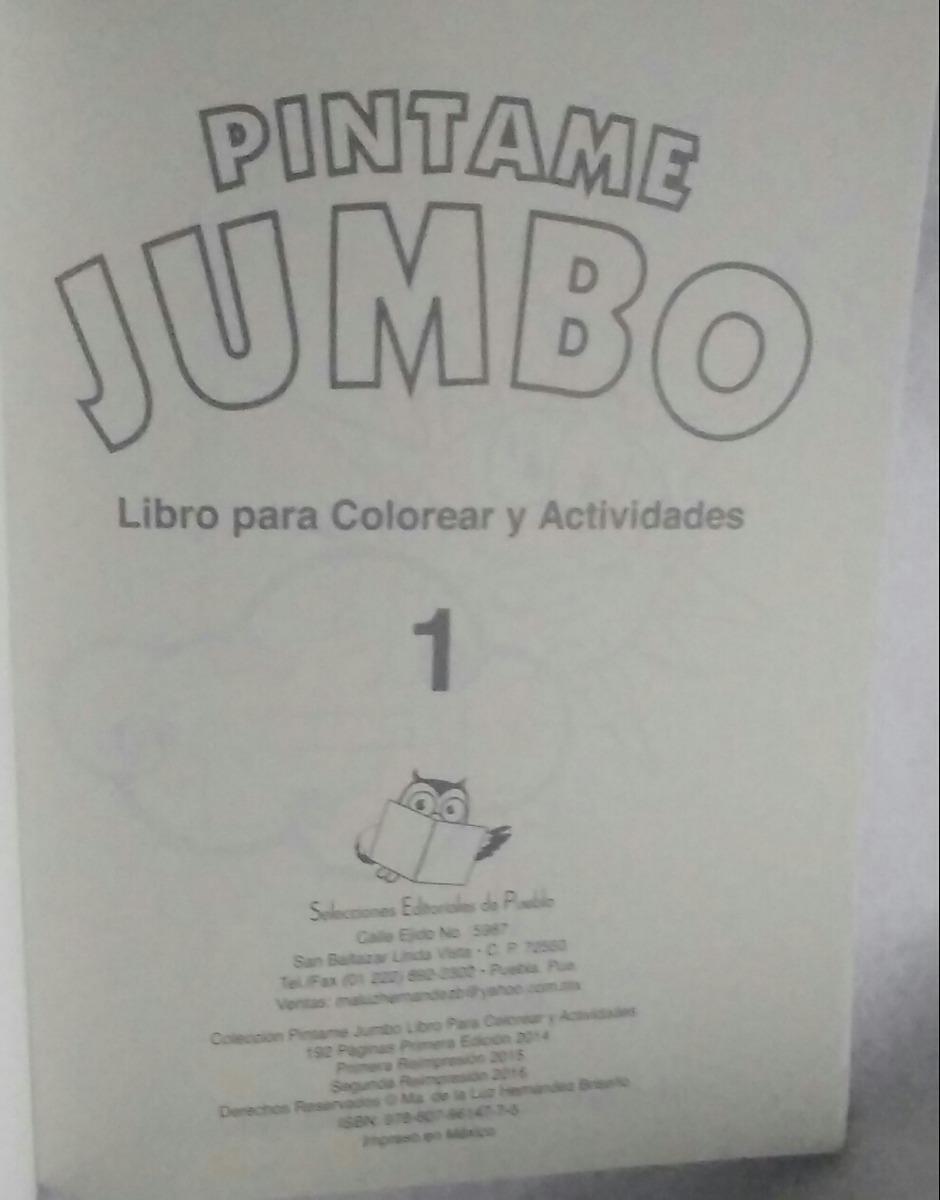 Lujo Libro De Colorear Jumbo Foto - Ideas Para Colorear ...