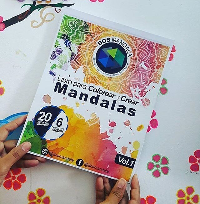 Libro Para Colorear Y Crear Mandalas Descargable (pdf) - Bs. 30.000 ...