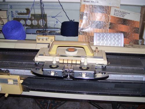 libro para máquina de tejer brother, knittax y lady tricot