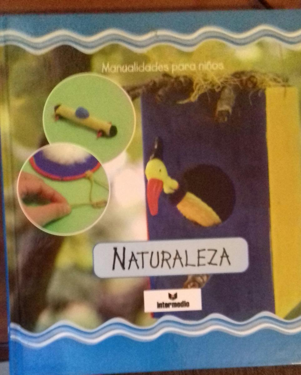 Libro Para Ninos De Manualidades Bs 50000 En Mercado Libre - Manualidades-con-nios
