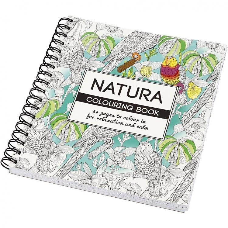 Libro Para Pintar Colorear Antistress Naturaleza 60 Páginas - $ 449 ...