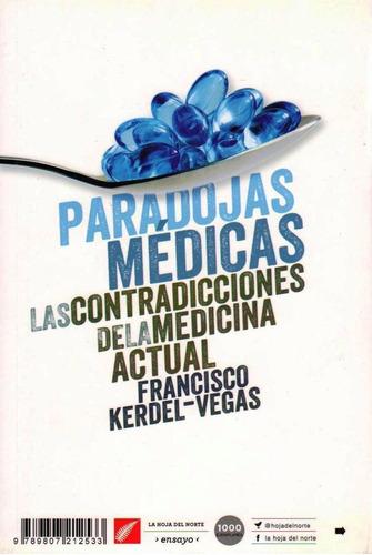 libro paradojas médicas. nuevo.