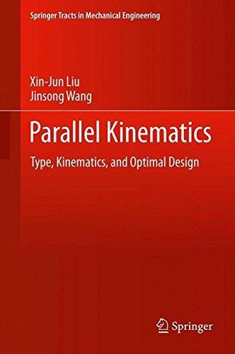 libro parallel kinematics: type, kinematics, and optimal d