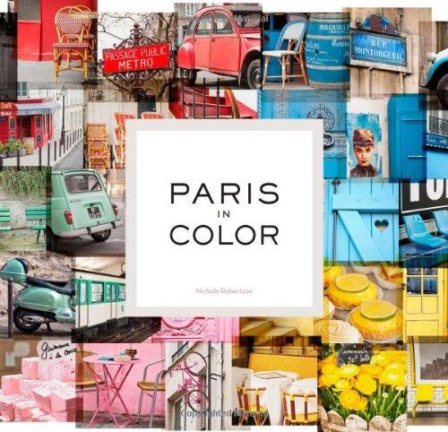 libro paris in color - nuevo
