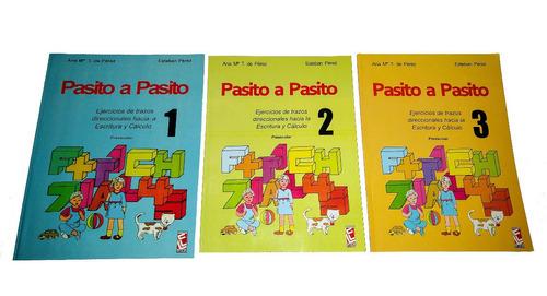 libro pasito a pasito 1 2 3 escolar