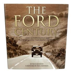 Libro Pasta Dura The Ford Century Descontinuado 1era Edición