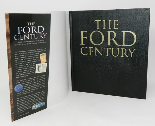 libro pasta dura the ford century descontinuado 1era edición