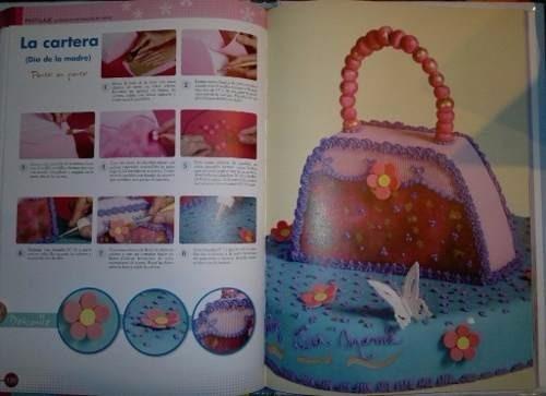 libro pastillaje - lo mejor en decoración de tortas