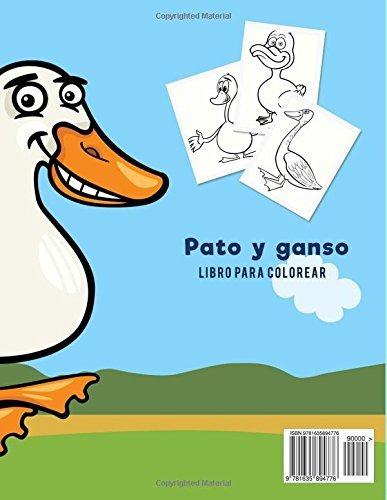 Libro Pato Y Ganso Libro Para Colorear Coloring Page 819